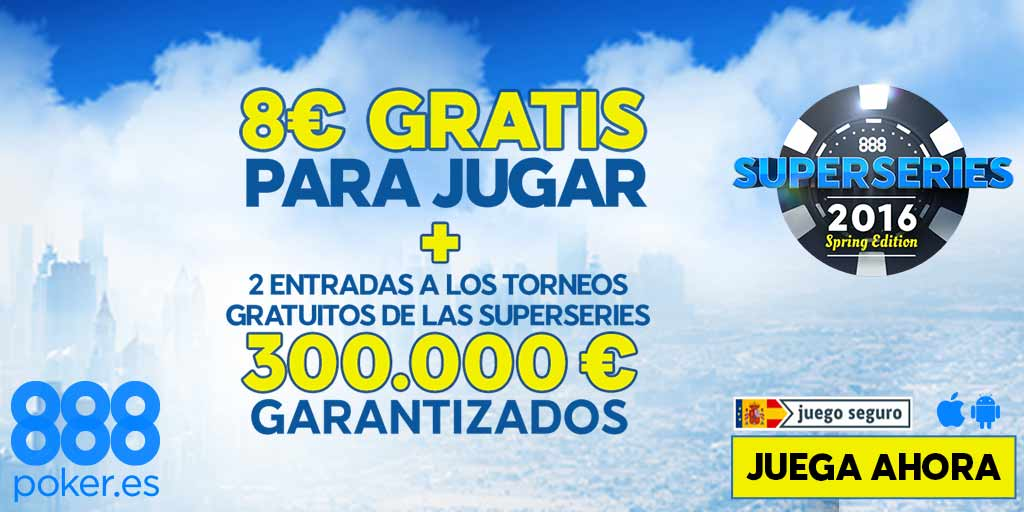 bonos de poker superseries 888poker