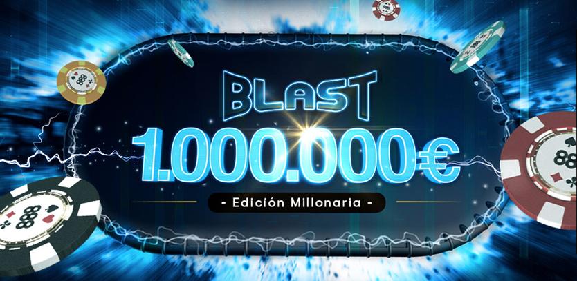 888poker blast poker 1 millon